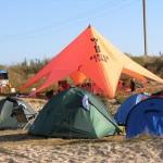 лагерь кайтеров