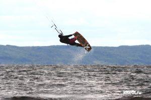 Кайтсерфинг на Жигулевском море