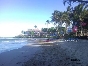 Кite Beach пляжная полоса