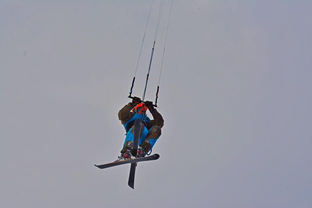 Сноукайтинг в Тольятти